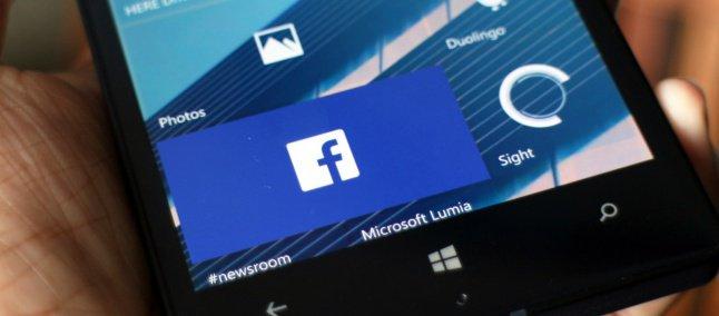 e0993d8cac4 Aplicativo oficial do Facebook para Windows 10 Mobile sai da versão beta